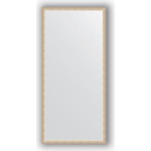 Зеркало в багетной раме поворотное Evoform Definite 71x151 см, мельхиор 41 мм (BY 1110)