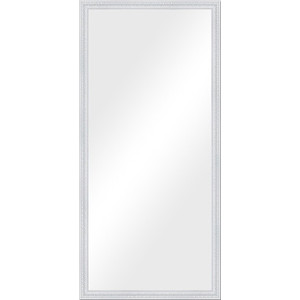 Зеркало в багетной раме поворотное Evoform Definite 72x152 см, алебастр 48 мм (BY 1111)