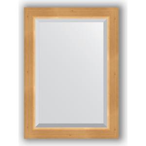 Зеркало с фацетом в багетной раме поворотное Evoform Exclusive 51x71 см, сосна 62 мм (BY 1123)