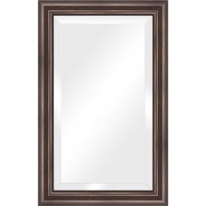 Зеркало с фацетом в багетной раме поворотное Evoform Exclusive 51x81 см, палисандр 62 мм (BY 1134) цена