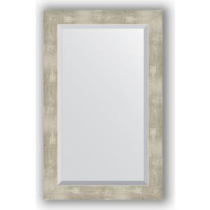 Зеркало с фацетом в багетной раме поворотное Evoform Exclusive 51x81 см, алюминий 61 мм (BY 1139)