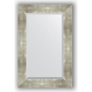 купить Зеркало с фацетом в багетной раме поворотное Evoform Exclusive 56x86 см, алюминий 90 мм (BY 1140) онлайн