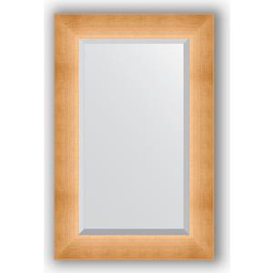 Зеркало с фацетом в багетной раме поворотное Evoform Exclusive 56x86 см, травленое золото 87 мм (BY 1141) зеркало с фацетом в багетной раме evoform exclusive 46x56 см травленое золото 87 мм by 1363