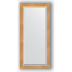 Зеркало с фацетом в багетной раме поворотное Evoform Exclusive 51x111 см, сосна 62 мм (BY 1143)