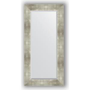Зеркало с фацетом в багетной раме поворотное Evoform Exclusive 56x116 см, алюминий 90 мм (BY 1150)