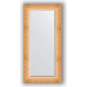 Зеркало с фацетом в багетной раме поворотное Evoform Exclusive 56x116 см, травленое золото 87 мм (BY 1151) зеркало с фацетом в багетной раме evoform exclusive 46x56 см травленое золото 87 мм by 1363