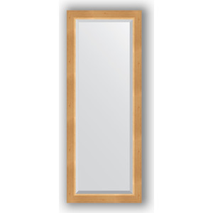 Зеркало с фацетом в багетной раме поворотное Evoform Exclusive 51x131 см, сосна 62 мм (BY 1153) зеркало с фацетом в багетной раме поворотное evoform exclusive 51x131 см палисандр 62 мм by 1154