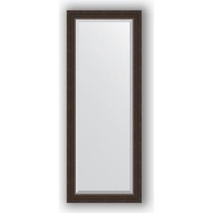 Зеркало с фацетом в багетной раме поворотное Evoform Exclusive 51x131 см, палисандр 62 мм (BY 1154)