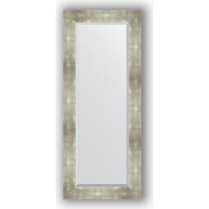 купить Зеркало с фацетом в багетной раме поворотное Evoform Exclusive 56x136 см, алюминий 90 мм (BY 1160) онлайн