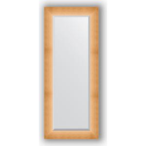 Зеркало с фацетом в багетной раме поворотное Evoform Exclusive 56x136 см, травленое золото 87 мм (BY 1161) зеркало с фацетом в багетной раме evoform exclusive 46x56 см травленое золото 87 мм by 1363