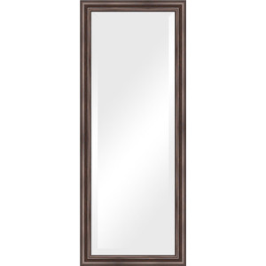 Зеркало с фацетом в багетной раме поворотное Evoform Exclusive 56x141 см, палисандр 62 мм (BY 1164) цена