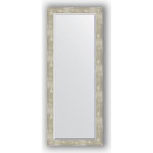 Фото - Зеркало с фацетом в багетной раме поворотное Evoform Exclusive 56x141 см, алюминий 61 мм (BY 1169) боди детский luvable friends 60325 f бирюзовый р 55 61
