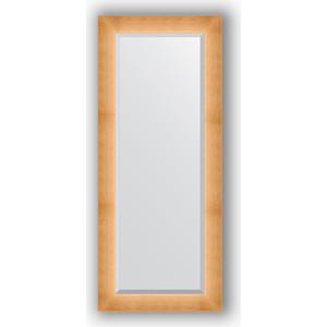 Зеркало с фацетом в багетной раме поворотное Evoform Exclusive 61x146 см, травленое золото 87 мм (BY 1171)