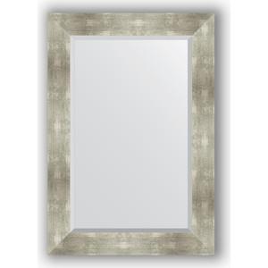 купить Зеркало с фацетом в багетной раме поворотное Evoform Exclusive 66x96 см, алюминий 90 мм (BY 1180) онлайн