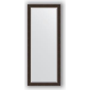 Зеркало с фацетом в багетной раме поворотное Evoform Exclusive 61x151 см, палисандр 62 мм (BY 1184) цена