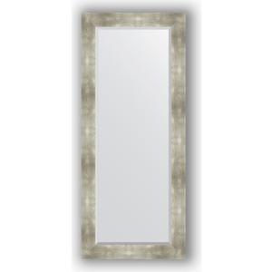 купить Зеркало с фацетом в багетной раме поворотное Evoform Exclusive 66x156 см, алюминий 90 мм (BY 1190) онлайн