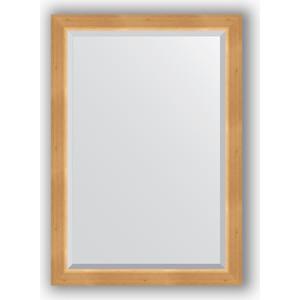 Зеркало с фацетом в багетной раме поворотное Evoform Exclusive 71x101 см, сосна 62 мм (BY 1193) зеркало с фацетом в багетной раме поворотное evoform exclusive 71x101 см палисандр 62 мм by 1194