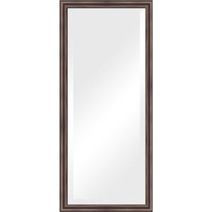 Зеркало с фацетом в багетной раме поворотное Evoform Exclusive 71x161 см, палисандр 62 мм (BY 1204) цена