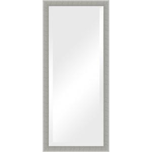 Зеркало с фацетом в багетной раме поворотное Evoform Exclusive 71x161 см, алюминий 61 мм (BY 1209)
