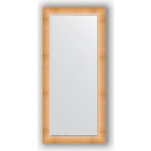 Зеркало с фацетом в багетной раме поворотное Evoform Exclusive 76x166 см, травленое золото 87 мм (BY 1211) зеркало с фацетом в багетной раме evoform exclusive 46x56 см травленое золото 87 мм by 1363