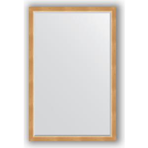 Зеркало с фацетом в багетной раме поворотное Evoform Exclusive 111x171 см, сосна 62 мм (BY 1213)