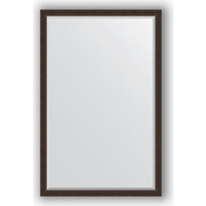 Зеркало с фацетом в багетной раме поворотное Evoform Exclusive 111x171 см, палисандр 62 мм (BY 1214)