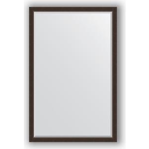 Зеркало с фацетом в багетной раме поворотное Evoform Exclusive 111x171 см, палисандр 62 мм (BY 1214) цена