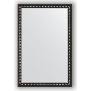 Зеркало с фацетом в багетной раме поворотное Evoform Exclusive 115x175 см, черный ардеко 81 мм (BY 1215) косметика ардеко