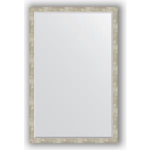 Фото - Зеркало с фацетом в багетной раме поворотное Evoform Exclusive 111x171 см, алюминий 61 мм (BY 1219) боди детский luvable friends 60325 f бирюзовый р 55 61