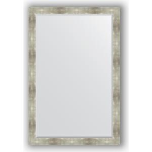 купить Зеркало с фацетом в багетной раме поворотное Evoform Exclusive 116x176 см, алюминий 90 мм (BY 1220) онлайн