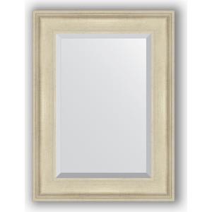 Зеркало с фацетом в багетной раме поворотное Evoform Exclusive 58x78 см, травленое серебро 95 мм (BY 1226) evoform by 0641