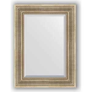 Зеркало с фацетом в багетной раме поворотное Evoform Exclusive 57x77 см, серебряный акведук 93 мм (BY 1228) зеркало с фацетом в багетной раме поворотное evoform exclusive 67x157 см серебряный акведук 93 мм by 1288