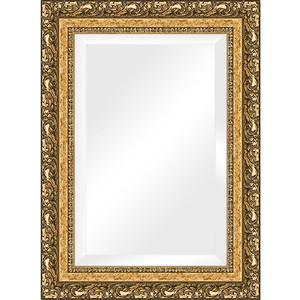 Зеркало с фацетом в багетной раме поворотное Evoform Exclusive 55x75 см, виньетка бронзовая 85 мм (BY 1230) зеркало с фацетом в багетной раме поворотное evoform exclusive 80x170 см виньетка серебро 109 мм by 3608