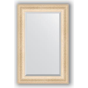 Зеркало с фацетом в багетной раме поворотное Evoform Exclusive 55x85 см, старый гипс 82 мм (BY 1232)