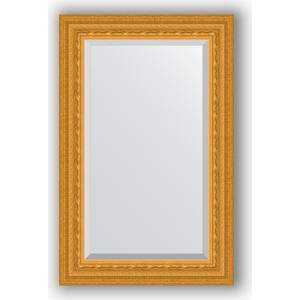 Зеркало с фацетом в багетной раме поворотное Evoform Exclusive 55x85 см, сусальное золото 80 мм (BY 1234)