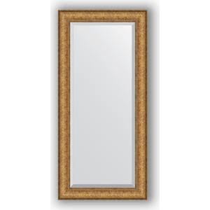 Зеркало с фацетом в багетной раме поворотное Evoform Exclusive 54x114 см, медный эльдорадо 73 мм (BY 1243) утюг цена в эльдорадо
