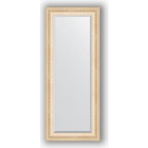 Зеркало с фацетом в багетной раме поворотное Evoform Exclusive 55x135 см, старый гипс 82 мм (BY 1252)