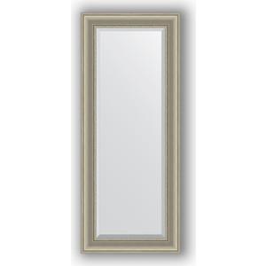 Зеркало с фацетом в багетной раме поворотное Evoform Exclusive 56x136 см, хамелеон 88 мм (BY 1255) цены