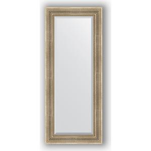 Зеркало с фацетом в багетной раме поворотное Evoform Exclusive 57x137 см, серебряный акведук 93 мм (BY 1258) зеркало с фацетом в багетной раме поворотное evoform exclusive 67x157 см серебряный акведук 93 мм by 1288
