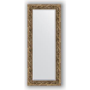 Зеркало с фацетом в багетной раме поворотное Evoform Exclusive 56x136 см, фреска 84 мм (BY 1259)