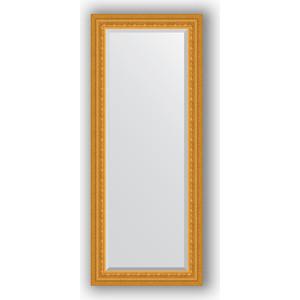 Зеркало с фацетом в багетной раме поворотное Evoform Exclusive 60x145 см, сусальное золото 80 мм (BY 1264)