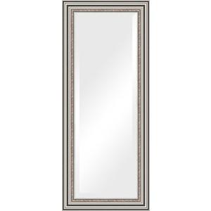 Зеркало с фацетом в багетной раме поворотное Evoform Exclusive 61x146 см, римское серебро 88 мм (BY 1267) зеркало evoform exclusive 166х76 римское серебро