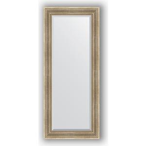 Зеркало с фацетом в багетной раме поворотное Evoform Exclusive 62x147 см, серебряный акведук 93 мм (BY 1268) зеркало с фацетом в багетной раме поворотное evoform exclusive 67x157 см серебряный акведук 93 мм by 1288