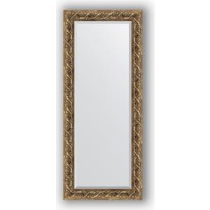 Зеркало с фацетом в багетной раме поворотное Evoform Exclusive 61x146 см, фреска 84 мм (BY 1269)