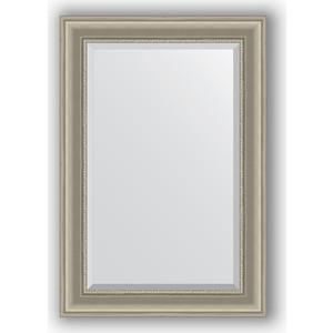 Зеркало с фацетом в багетной раме поворотное Evoform Exclusive 66x96 см, хамелеон 88 мм (BY 1275)
