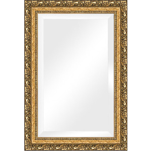 Зеркало с фацетом в багетной раме поворотное Evoform Exclusive 65x95 см, виньетка бронзовая 85 мм (BY 1280) зеркало с фацетом в багетной раме поворотное evoform exclusive 80x170 см виньетка серебро 109 мм by 3608