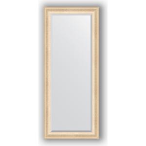 Зеркало с фацетом в багетной раме поворотное Evoform Exclusive 65x155 см, старый гипс 82 мм (BY 1282)