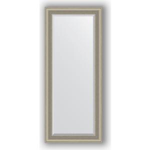 Зеркало с фацетом в багетной раме поворотное Evoform Exclusive 66x156 см, хамелеон 88 мм (BY 1285) цены