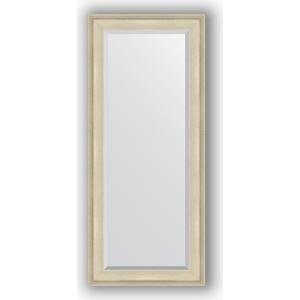 Зеркало с фацетом в багетной раме поворотное Evoform Exclusive 68x158 см, травленое серебро 95 мм (BY 1286) зеркало с фацетом в багетной раме поворотное evoform exclusive 80x170 см виньетка серебро 109 мм by 3608