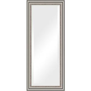 Зеркало с фацетом в багетной раме поворотное Evoform Exclusive 66x156 см, римское серебро 88 мм (BY 1287) зеркало evoform exclusive g 186х131 римское серебро
